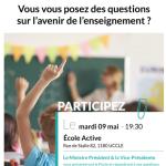 Soirée d'informations sur le Pacte d'Excellence à l'Ecole Active